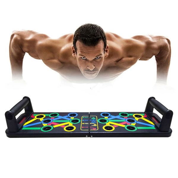 14 in 1 Push-Up Rack Board Training Sport Workout Fitness Gym Equipment