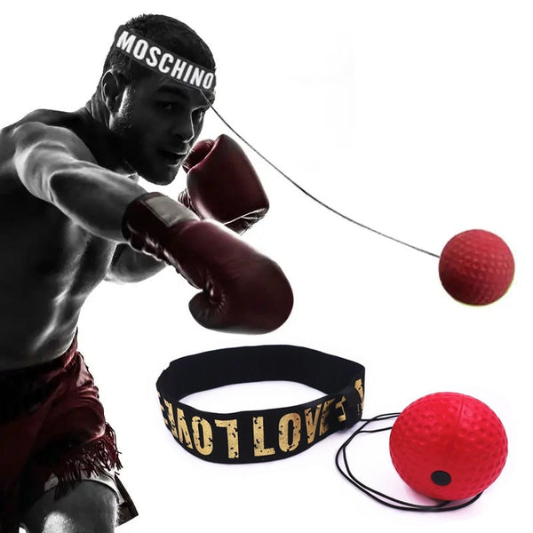 Boxing Reflex Speed Punch Ball MMA Sanda Raising Reaction Hand Eye Training