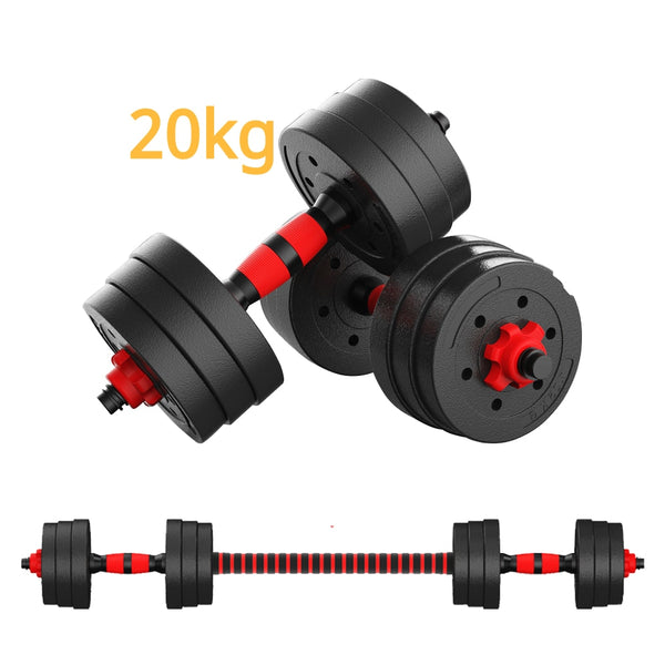 Adjustable Dumbbell Weight Set Weights Gym Workout Fitness Dumbbells
