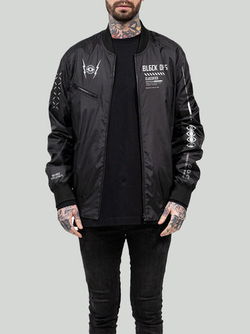 Call of Duty®: Cold War Reversible Bomber Jacket Black/Reflex
