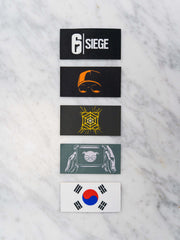 6 Siege Patch pack 3
