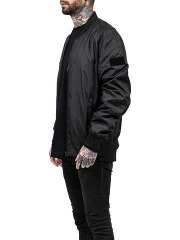 DRKN Reversible Bomber Jacket Black/Reflex