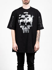 Warzone Ghost Black Oversized T-shirt