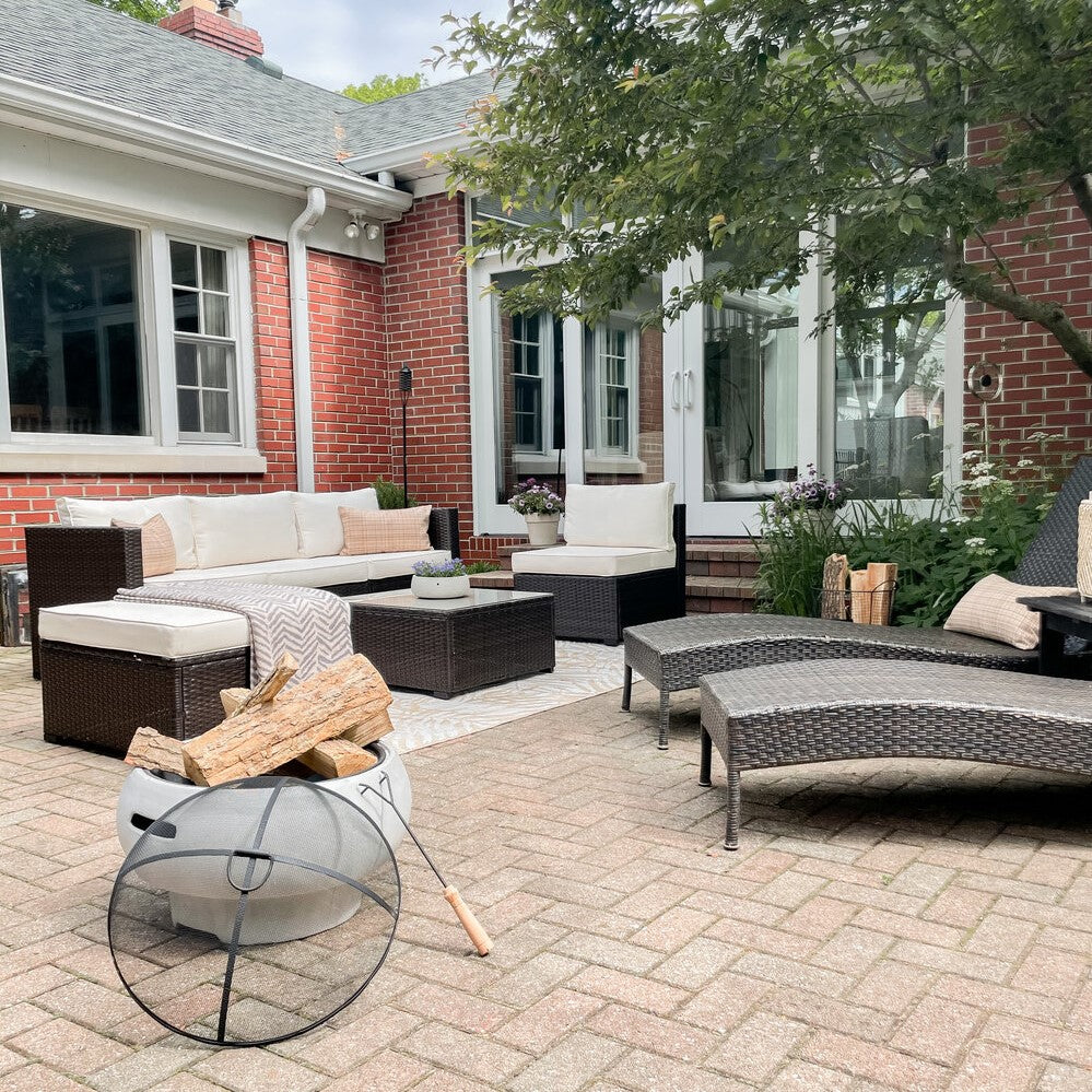 Teamson outdoor fire pit