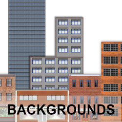 See our model railroad background kits