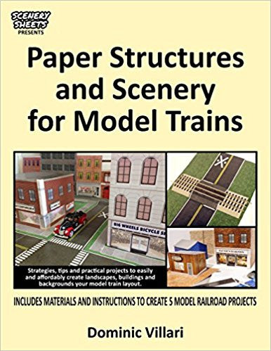 Paper Structures and Scenery for Model Trains Paperback