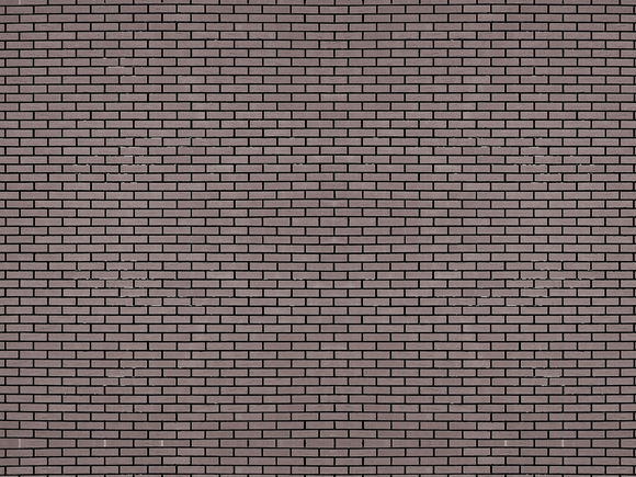 Black Brick Model Train Scenery Sheet