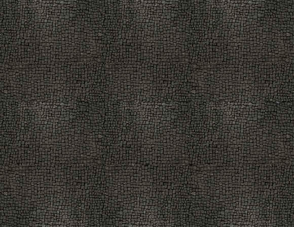 Dark Gray Cobblestone Scenery Sheet