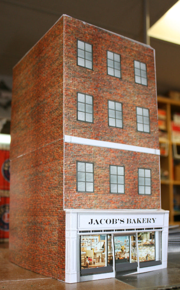 JACOB'S BAKERY BUILDING KIT O SCALE