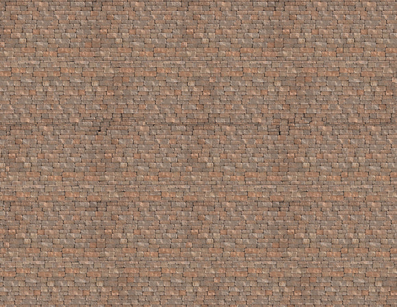 Large Tan Rockwall Model Train Scenery Sheet