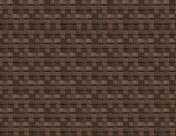Brown Roof Shingles Scenery Sheet