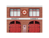 Fire Station Complete Building Kit