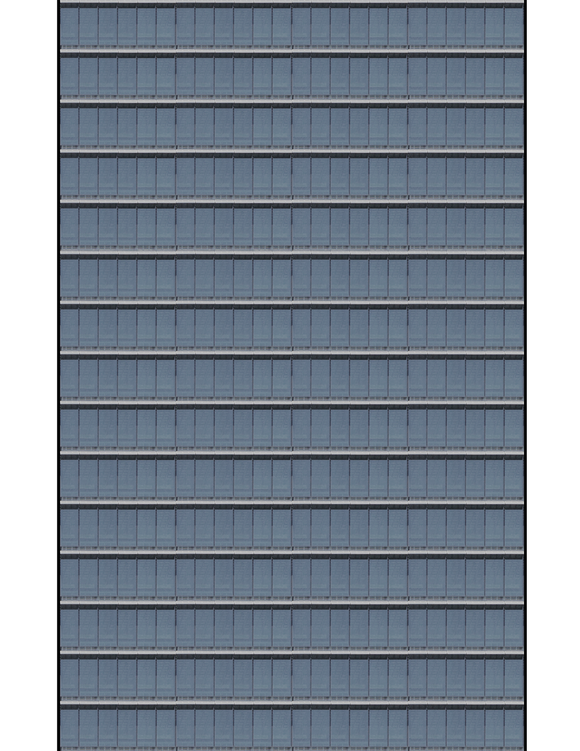Gray Glass Highrise Multi-story Paper Building Sheet