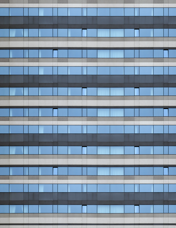 Glass Office Highrise Multi-story Paper Building Sheet