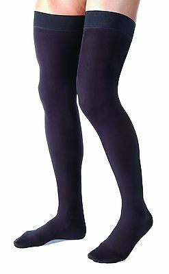 Jobst For Men Compression Thigh High Stockings 20-30 mmHg - Scrubsnmed