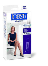 Cargar imagen en el visor de la galería, Jobst Women's Ultrasheer 30-40 mmHg Thigh High Close Toe With Lace Silicone Strip Band - Scrubsnmed