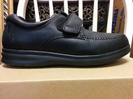 Bell Horn Men's Prescott Diabetic Shoes - Black - Wide FREE Heat Moldable Insert - Scrubsnmed