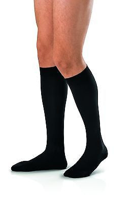 Jobst For Men 15-20 mmHg Knee High Close Toe Moderate Compression Socks For Men - Scrubsnmed