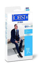 Load image into Gallery viewer, Jobst For Men 15-20 mmHg Knee High Close Toe Moderate Compression Socks For Men - Scrubsnmed