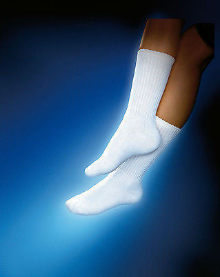 Jobst Sensifoot Diabetic Sock 8-15 mmHg Crew Mild Compression , Braces & Supports - JOBST, Scrubsnmed  - 1