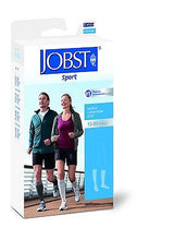 Load image into Gallery viewer, Jobst Sports Compression Socks 15-20 mmHg Knee High - Scrubsnmed
