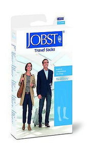 Jobst Travel Knee High Support Socks 15-20 mmHg - Scrubsnmed