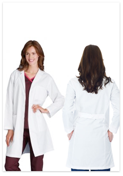 Ladies Lab Coat - Scrubsnmed