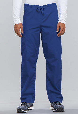 Cherokee Unisex Drawstring Cargo Pant in Royal