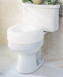 Medline Raised Toilet Seat - Scrubsnmed