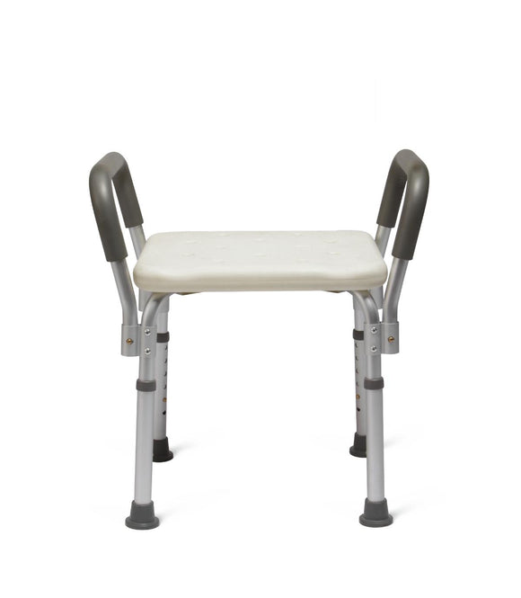 Medline Knockdown Bath Bench with Arms and No Back - Scrubsnmed