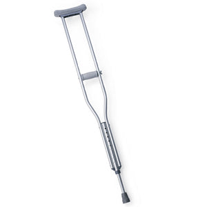 Medline Youth Standard Aluminum Crutches , Crutches - Medline, Scrubsnmed