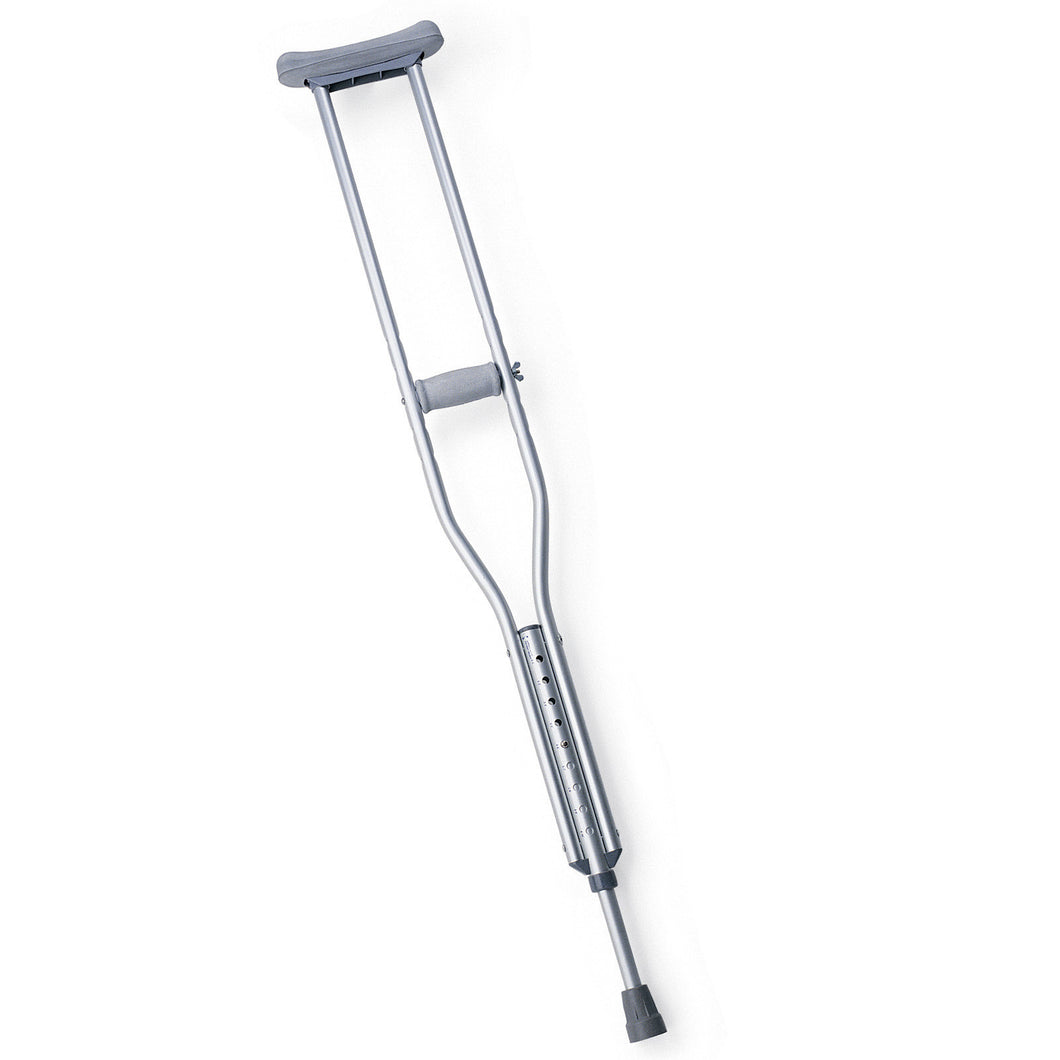 Medline Aluminum Crutches - Regular Adult Size - Scrubsnmed