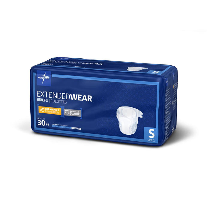 Extended Wear High-Capacity Adult Incontinence Briefs