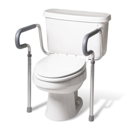 Medline Toilet Safety Rails - Scrubsnmed
