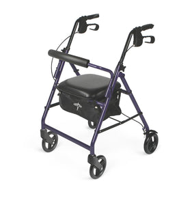 Medline Rollator Blue - Scrubsnmed