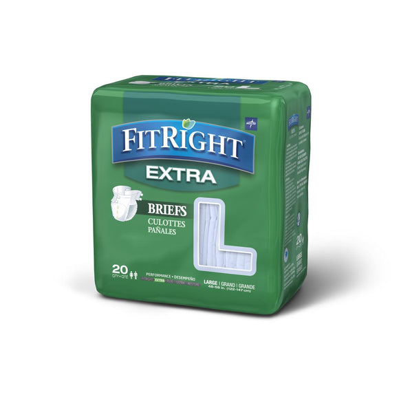 FitRight Extra Incontinence Briefs