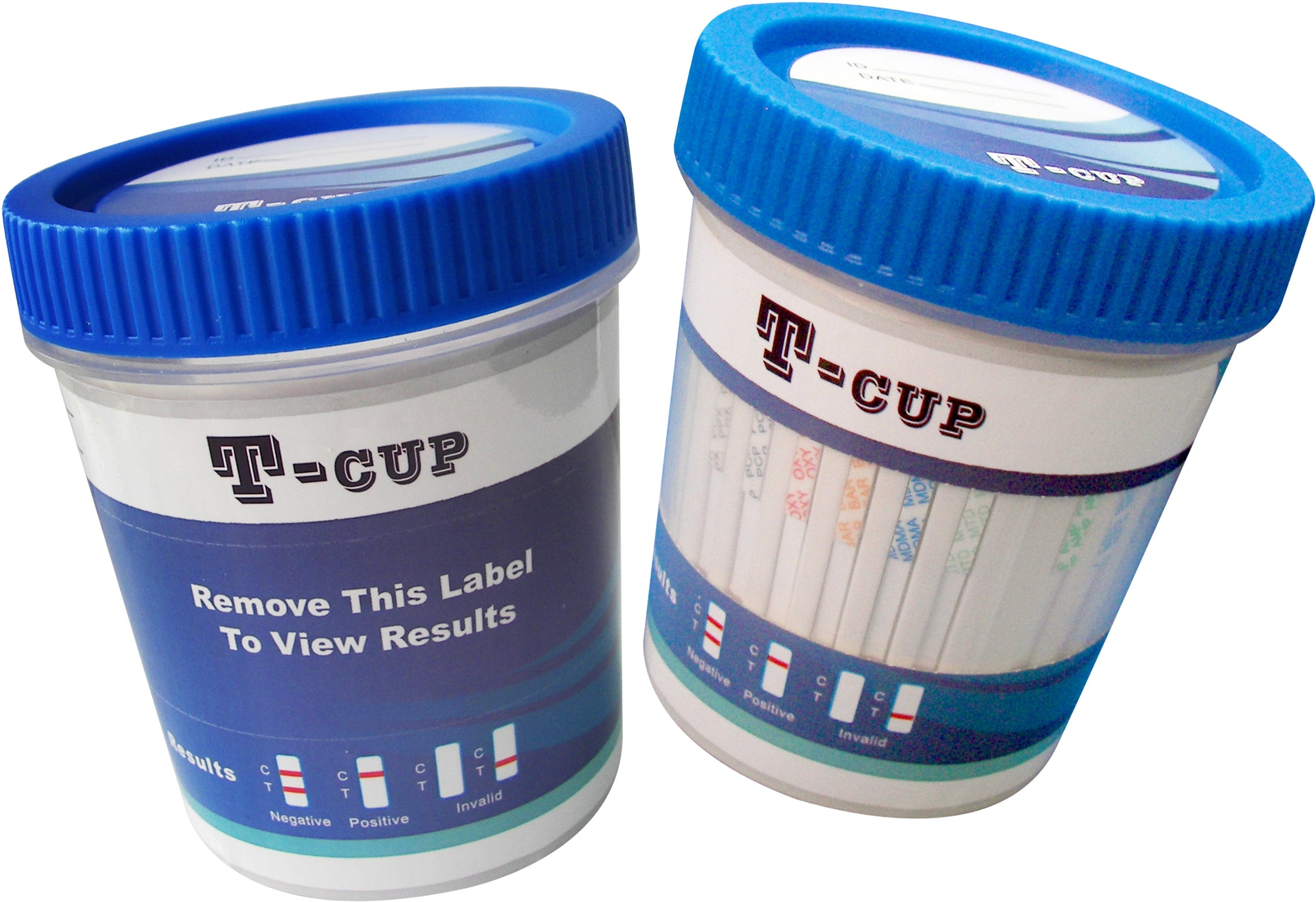 5 Pack - 10 Panel Drug Test Cup - AMP, BAR, BZO, COC, mAMP (MET), MDMA, MTD, OPI2000 (OPI), PCP, THC