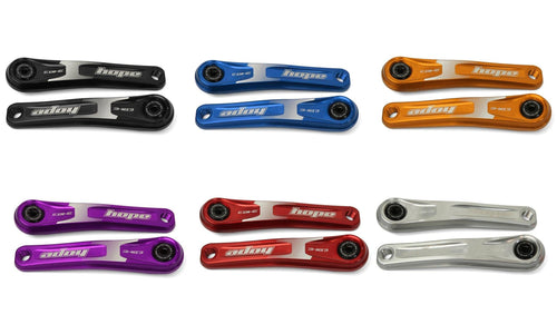 Hope Tech EBike Crankset Narrow Offset for Mountain Bikes - Six Colors