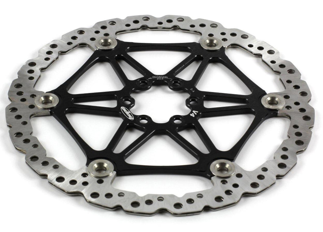 Hope Tech Mountain Bike Two-Piece Vented Rotors - Black