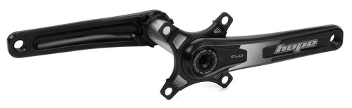 Hope Tech Mountain Bike Evo Crankset - With Spider - Black