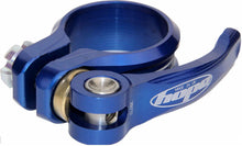 Load image into Gallery viewer, Hope quick release mountain bike seatpost clamp - Blue