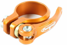 Load image into Gallery viewer, Hope quick release mountain bike seatpost clamp - Orange