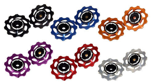 Hope Tech Mountain Bike Jockey Wheels for Rear Derailleur - Six Colors