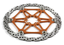 Load image into Gallery viewer, Hope Tech Mountain Bike Two-Piece Vented Rotors - Orange