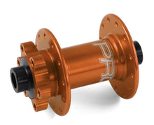 Load image into Gallery viewer, Hope Tech 20mm Standard or Boost Front Hub for Mountain Bikes - Orange
