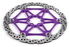 Load image into Gallery viewer, Hope Tech Mountain Bike Two-Piece Vented Rotors - Purple