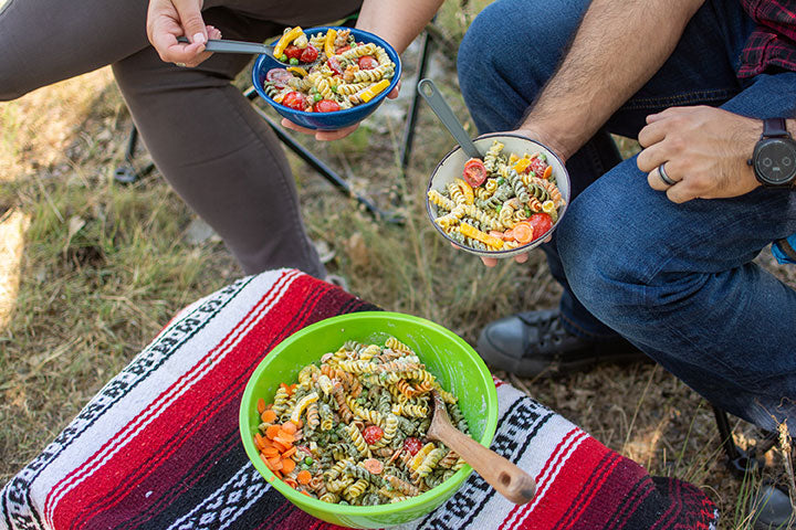Camping with Salad | Savory Spice