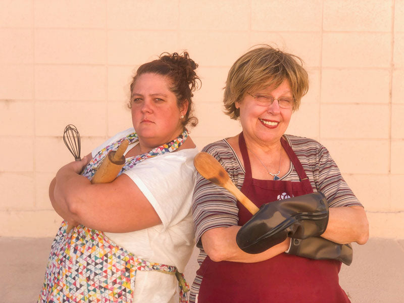 Mary and Shannon - Preparing for Holiday Baking