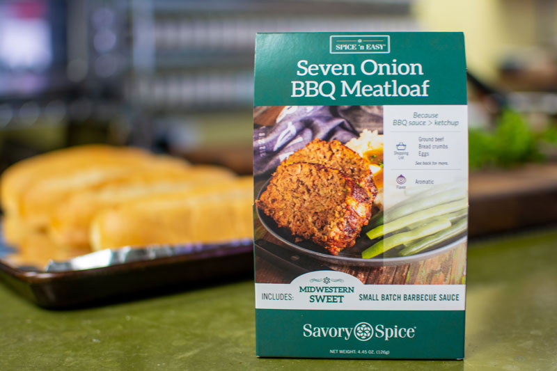 Seven Onion BBQ Meatloaf   Savory Spice