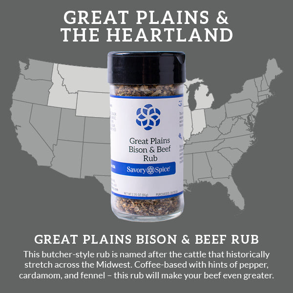 Great Plains Bison & Beef Rub   Savory Spice